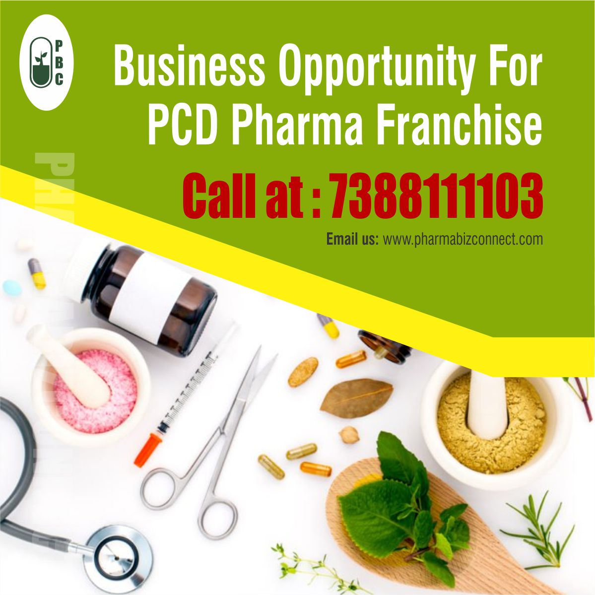 Business Opportunity For PCD Pharma Franchise
