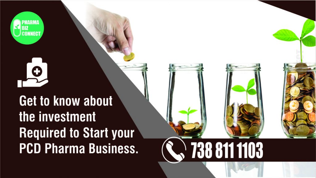 Investment required to start PCD Pharma Franchise Business