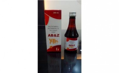 Multivitamin + Multiminerals Anti - Oxidants Syrup