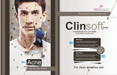 Clinsoft Soap - for clean & acne free soap