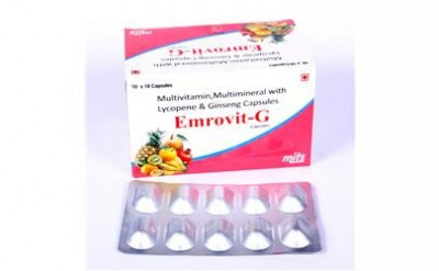 Multivitamin, Multimineral with Lycopene & Ginseng Capeules