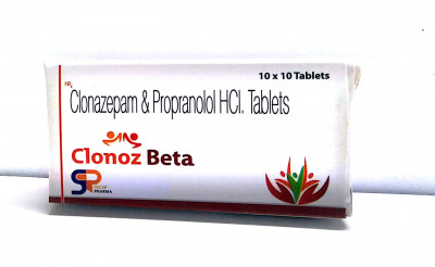 Clonazepam and Propranolol tablets