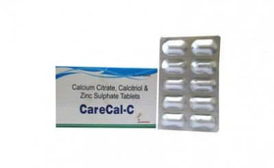 Calcium Citrate, Calcitriol & Zinc Sulphate