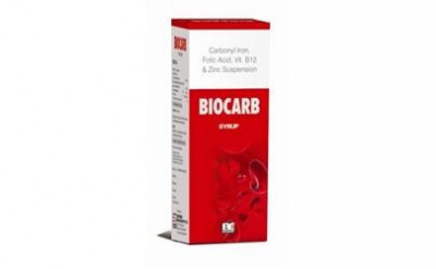 Iron Carbonyl 50 mg. +  Folic Acid 500 mcg+ Cynocobalamin 6 mcg + Zinc 11 mg.