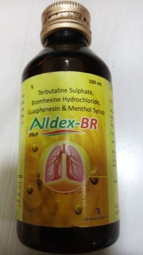 Terbutaline Sulphate, Bromhexine Hydrochloride,Menthol Syrup