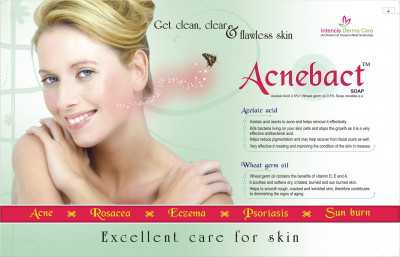 Acnebact Soap - Get clean, clear & flawless skin