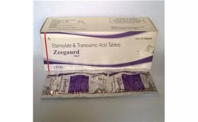 Etamsylate 250 Mg+Tranexamic Acid 250 Mg