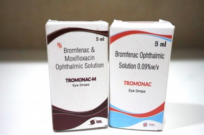 Bromfenac & Moxeflocacin OPHTHALMIC Solutions and EYE DROPS
