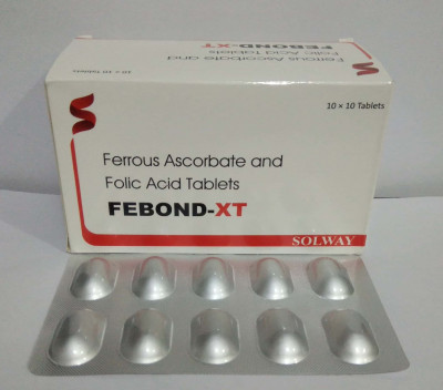 Ferrous Ascorbate 100 mg + Folic Acid 5 mg