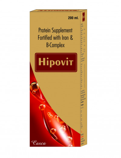 Protein Supplement Fortified with iron & B- complex