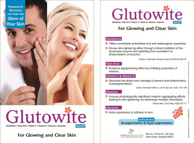 Glutowite Soap - For glowing & clear Skin