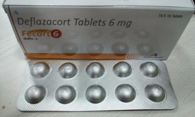 Deflazacort Tablets 6 mg