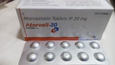 Atorvastatin Tablets IP 20 mg