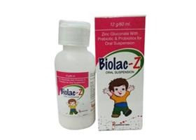 Zinc Gluconate With Prebiotic & Probiotic for oral suspension