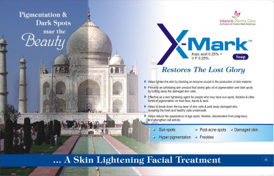 X-Mark Soap - A skin lightening facial treatment