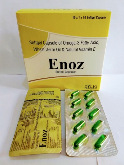 OMEGA-3 with Vitamin E Softgel capsules