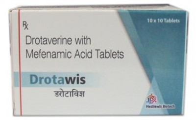 Mefenamic Acid 250mg+Drotaverin 80mg