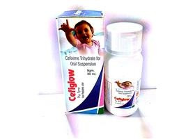Cefixime Trihydrate for Oral Suspension