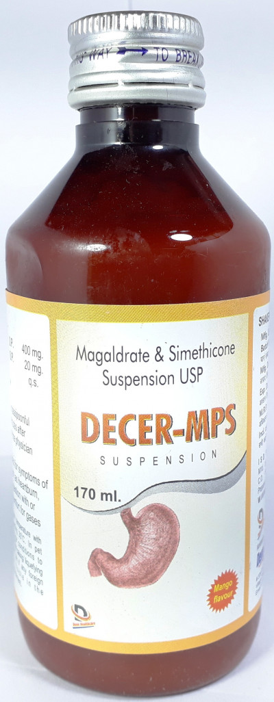 MAGALDRATE & SIMETHICONE SUSPENSION