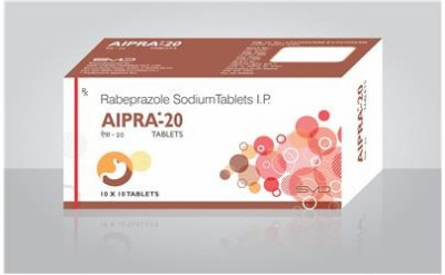 Rabeprazole Sodium 20 mg.