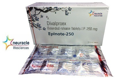 DIVALPROEX SODIUM EXTENDED RELEASE -250