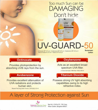 UV- Guard-50 - Strong Protection against Sun