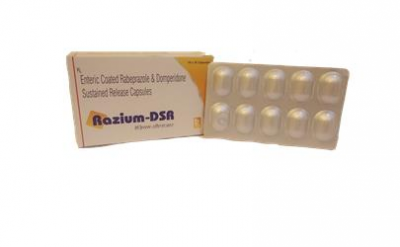 RABEPRAZOLE20MG + DOMPERIDONE30MG SUSTAINED RELEASE