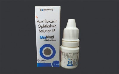 MOXIFLOXACIN OPHTHALMIC EYE DROPS