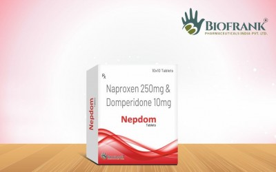 Naproxen 250mg & Domperidone 10mg