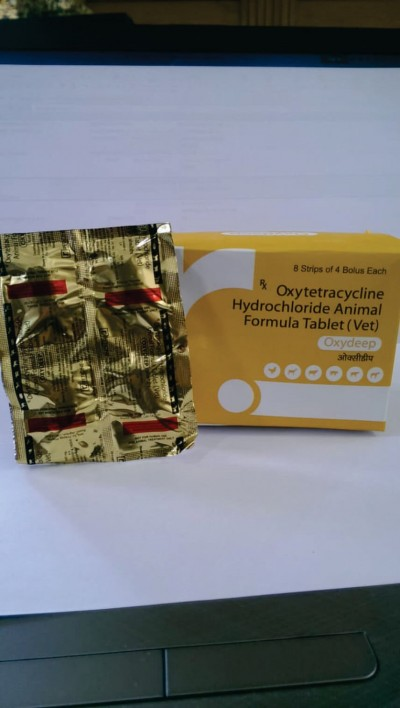 OXYTETRACYCLINE HYDROCHLORIDE ANIMAL FORMULA TABLET (VET)