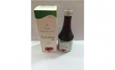 Ayurvedic Liver Formulations Syrup with monocarton