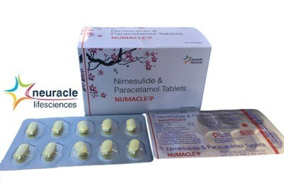 NIMUSULIDE 100MG+ PARACETAMOL 325MG