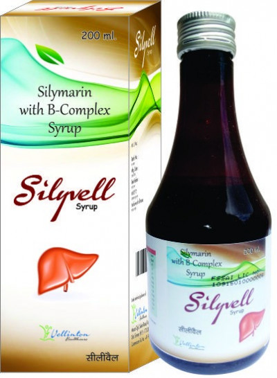 Silymarin with B-Complex Syrup