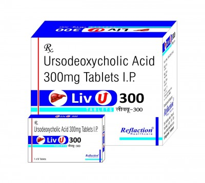Ursodeoxycholic Acid 300 mg tablets