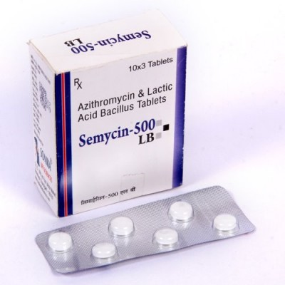 AZITHROMYICIN & LACTIC ACID BACILLUS TABLETS