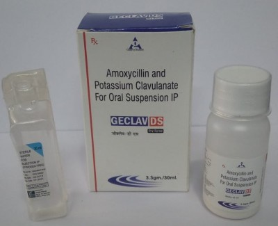 AMOXYCILLIN AND POTASSIUM CLAVULANTE FOR ORAL SUSPENSION IP