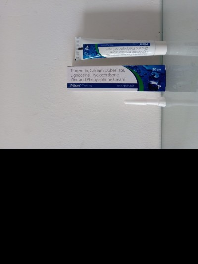 TROXERUTIN,CALCIUM DOBESILATE LIGNOCAINE, HYDROCORTISONE, ZINC AND PHENYLEPHRINE CREAM