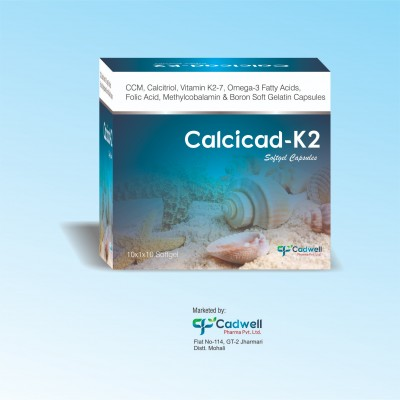 CCM, CALCITRIOL, VITAMIN K2-7, OMEGA-3 FATTY ACIDS, FOLIC ACID, METHYLCOBALAMIN & BORON SOFTGEL CAPSULES