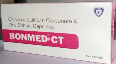 Calcitriol 0.25 mcg + Calcium Citrate 425 mg + Zinc sulphate Monohydrate 20 mg + Magnesium Oxide