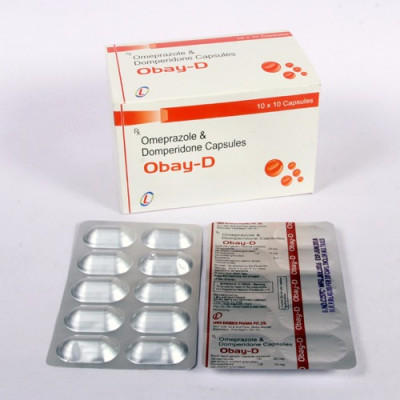 Omeprazole 20mg+Domperidone 10mg