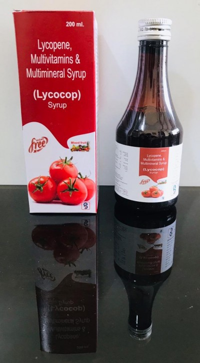 LYCOPENE, MULTIVITAMINS,MULTIMINERALS  SYRUP