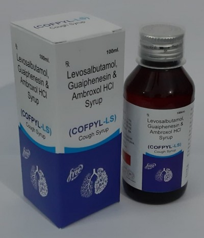 Ambroxl 30ml+each 5ml+levosulvotumol 1mg + per 5ml +guaiphensin 50mg syrup