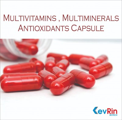 Multivitamins + Multiminerals + Antioxidant  Capsule