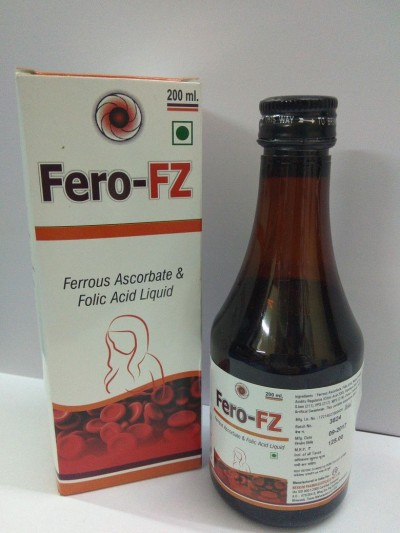 FERRIOUS ASCORBATE + FOLIC ACID