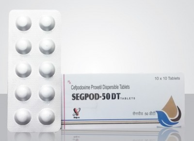 Cefpodoxime 50mg Dispersible Tablet