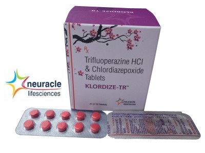 TRIFLUPERAZINE AND CHLORDIAZEPOXIDE 10 MG TABLET