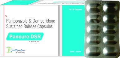 Pantaprazole 40mg +Domperidone 30mg