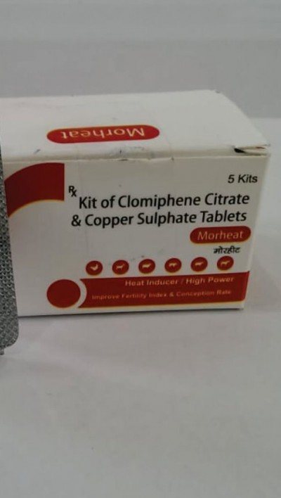 KIT OF CLOMIPHENE CITRATE & COPPER SULPHATE TABLETS