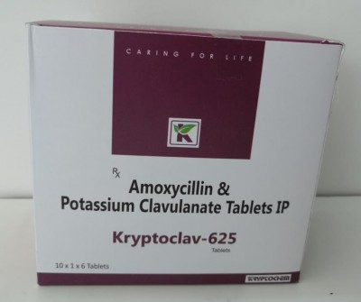 AMOXYCILLIN AND POTASSIUM CLAVULANTE TABLETS