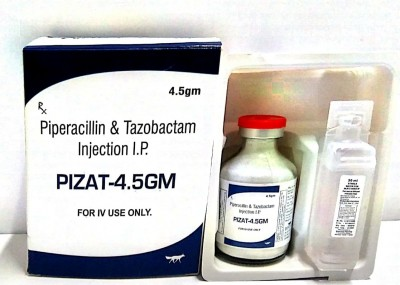 Piperacillin 4 gm & Tazobactum 0.5 gm (4.5 gm)..for IV use only